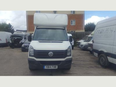 VOLKSWAGEN CRAFTER Chassis Cab 2.0 TDI CR35 Luton 2dr (MWB)