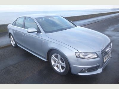 Audi A4 Saloon 2.0 TDI CR S line Special Edition quattro 4dr