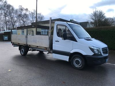 Mercedes-Benz Sprinter Dropside 14 Ft 316 High Sided Dropside