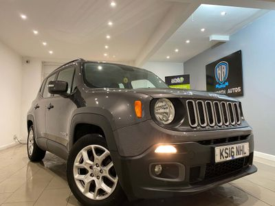 Jeep Renegade SUV 1.4T MultiAirII Longitude DDCT (s/s) 5dr