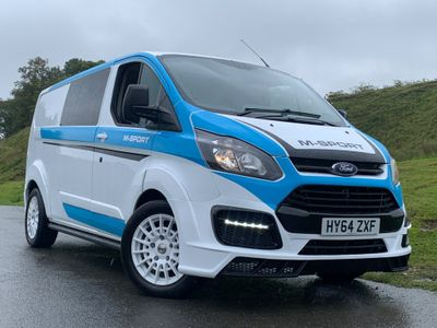 Ford Transit Custom Panel Van TRANSIT CUSTOM M SPORT MS RT RS 310 ECO