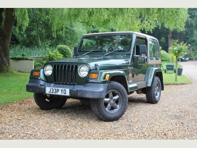 JEEP WRANGLER SUV 4.0 Sahara Hard Top 4x4 3dr
