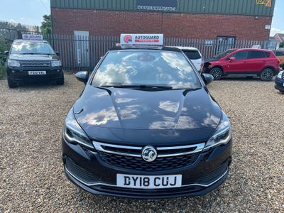 Vauxhall Astra Hatchback 1.4i Turbo SRi VX Line 5dr