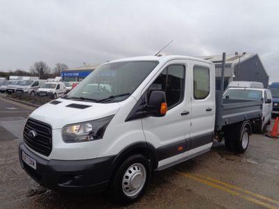 Ford Transit Tipper 2.0 350 EcoBlue 1-Way Double Cab Tipper RWD L3 EU6 4dr (1-Stop, DRW)