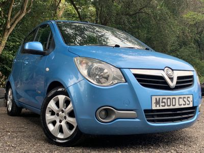 Vauxhall Agila Hatchback 1.2 16V Design 5dr