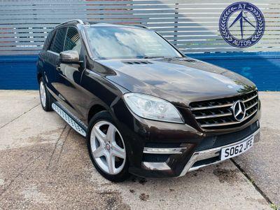 Mercedes-Benz M Class SUV 2.0 ML250 CDI BlueTEC Sport 5dr