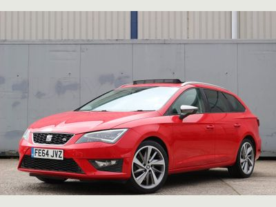 SEAT Leon Estate 2.0 TDI CR FR (Tech Pack) Sport Tourer (s/s) 5dr