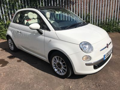 Fiat 500C Convertible 0.9 TwinAir Lounge (s/s) 2dr