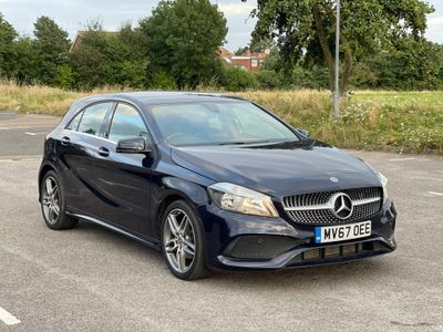 Mercedes-Benz A Class Hatchback 1.5 A180d AMG Line 7G-DCT (s/s) 5dr