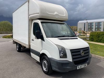 Volkswagen Crafter Luton 2.5 TDI CR35 Chassis Cab 2dr (LWB)