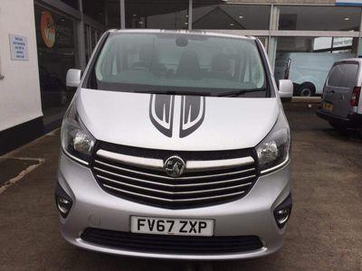 Vauxhall Vivaro Panel Van 1.6 CDTi 2700 BiTurbo ecoTEC Limited Edition Nav L1 H1 EU6 (s/s) 5dr