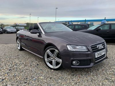 Audi A5 Cabriolet Convertible 1.8 TFSI S line Cabriolet 2dr