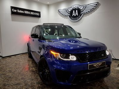 Land Rover Range Rover Sport SUV 5.0 V8 Autobiography Dynamic (s/s) 5dr