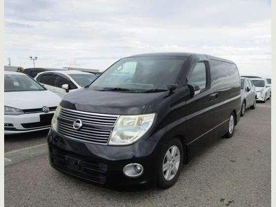 Nissan Elgrand MPV HIGHWAY STAR BLACK LEATHER EID RECLINER