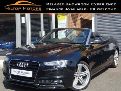 Audi A5 Cabriolet Convertible 2.0 TFSI S line Special Edition Cabriolet S Tronic quattro 2dr