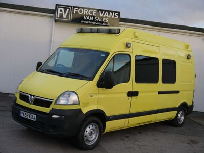 Vauxhall Movano Unlisted EXTRA HIGH AMBULANCE CAMPER MOTORHOME