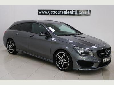 Mercedes-Benz CLA Class Estate 2.1 CLA220 AMG Sport Shooting Brake 7G-DCT (s/s) 5dr