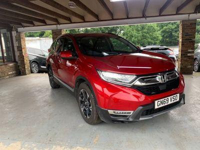 Honda CR-V SUV 2.0 h i-MMD SR eCVT (s/s) 5dr
