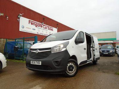 Vauxhall Vivaro Temperature Controlled 2900 1.6CDTI 115PS H1 Van