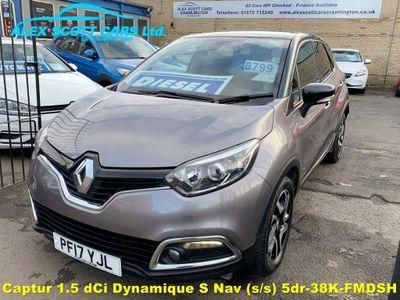 Renault Captur SUV 1.5 dCi Dynamique S Nav (s/s) 5dr