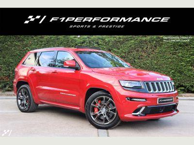 Jeep Grand Cherokee SUV 6.4 V8 SRT Auto 4WD (s/s) 5dr