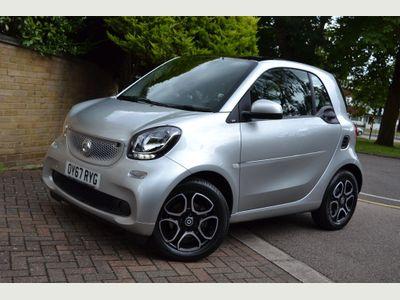 Smart fortwo Coupe 0.9T Prime (Premium) Twinamic (s/s) 2dr