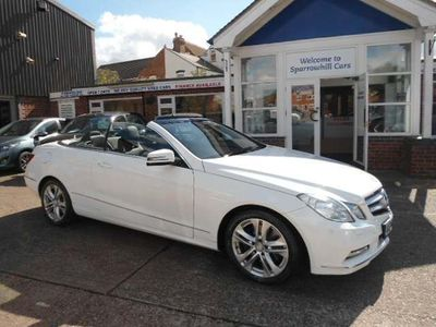 Mercedes-Benz E Class Convertible 3.0 E350 CDI BlueEFFICIENCY SE Cabriolet G-Tronic 2dr