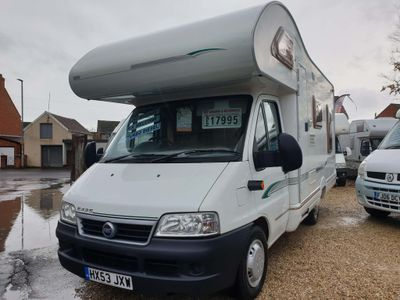 Swift Sorry now sold Coach Built Fiat ducato 2.3jtd