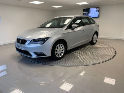 SEAT Leon Estate 1.6 TDI SE (Tech Pack) ST DSG (s/s) 5dr