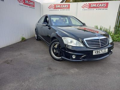 Mercedes-Benz S Class Saloon 6.2 S63 AMG 7G-Tronic 4dr
