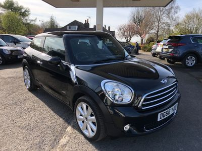 MINI Paceman SUV 1.6 Cooper D (Chili) ALL4 (s/s) 3dr