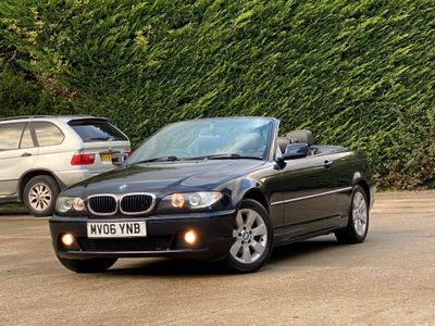 BMW 3 Series Convertible 2.0 318Ci SE 2dr