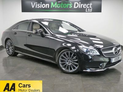 Mercedes-Benz CLS Coupe 2.1 CLS220d AMG Line G-Tronic+ (s/s) 4dr