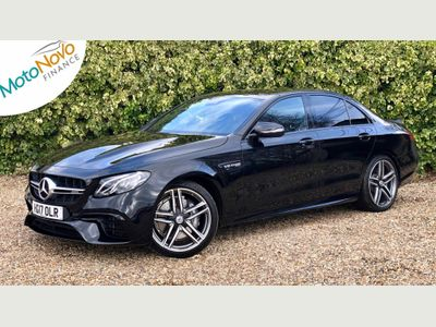 Mercedes-Benz E Class Saloon 4.0 E63 BiTurbo V8 AMG SpdS MCT 4MATIC+ (s/s) 4dr