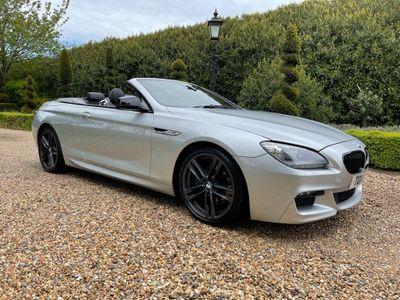 BMW 6 Series Convertible 3.0 640d M Sport (s/s) 2dr