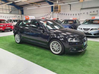 Audi A3 Hatchback 2.0 TD S line Sportback S Tronic 5dr