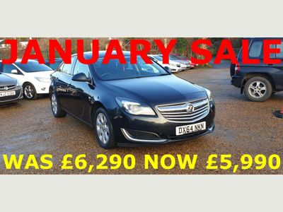 Vauxhall Insignia Hatchback 2.0 CDTi SE Auto 5dr