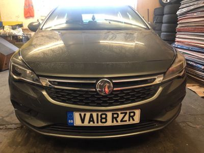 Vauxhall Astra Hatchback 1.6 CDTi ecoTEC BlueInjection Tech Line Nav 5dr