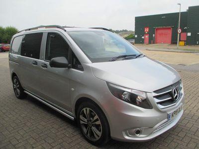 Mercedes-Benz Vito Combi Van 2.1 116 CDi BlueTEC Sport Crew Van RWD L1 EU6 (s/s) 5dr