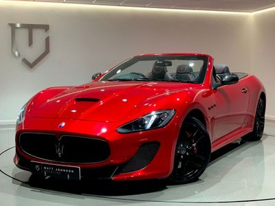 Maserati GranCabrio Convertible 4.7 V8 MC MC Shift 2dr