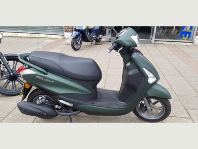 Yamaha Delight Scooter 125