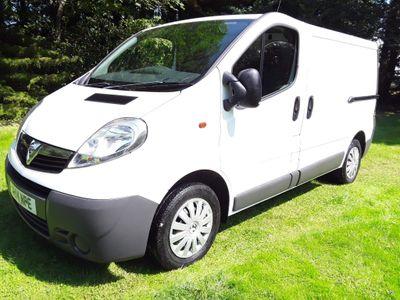 Vauxhall Vivaro Panel Van 2.0 CDTi ecoFLEX 2700 Panel Van SWB 4dr (SWB, EU5)