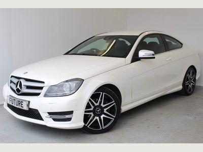 Mercedes-Benz C Class Coupe 1.8 C250 BlueEFFICIENCY AMG Sport Sport Coupe 7G-Tronic Plus 2dr