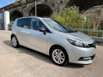 Renault Scenic MPV 1.5 dCi Limited Nav (s/s) 5dr