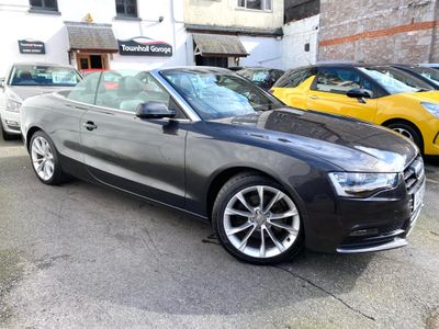 Audi A5 Cabriolet Convertible 2.0 TDI SE Cabriolet Multitronic 2dr