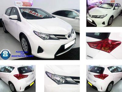 Toyota Auris Hatchback 1.4 D-4D Active (s/s) 5dr