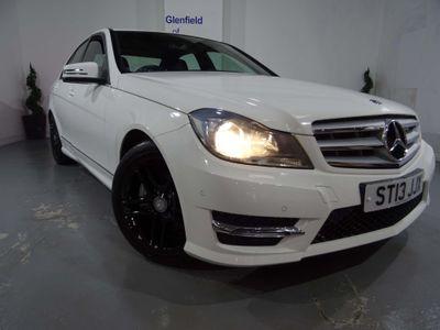 Mercedes-Benz C Class Saloon 1.6 C180 BlueEFFICIENCY AMG Sport 7G-Tronic Plus 4dr
