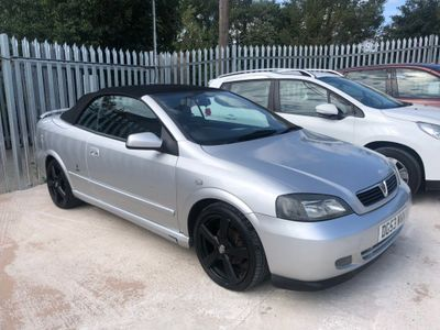 VAUXHALL ASTRA Convertible 1.6 i 16v 2dr