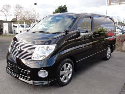 Nissan Elgrand MPV HIGHWAY STAR 2.5 BLACK LEATHER SERIES 3