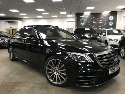 Mercedes-Benz S Class Saloon 3.0 S500L EQ Boost AMG Line (Executive, Premium Plus) G-Tronic+ (s/s) 4dr
